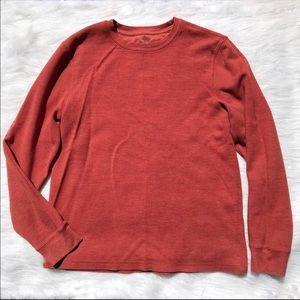 Burnt Orange Sweater Men's Large
